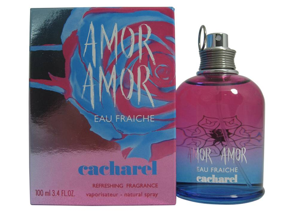 Amor Amor Eau Fraiche by Cacharel Eau de Toilette TESTER 100 ML.